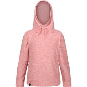 Regatta Kacie Fleece Hoodie Kinderen, roze